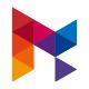 Media Play M Letter Logo