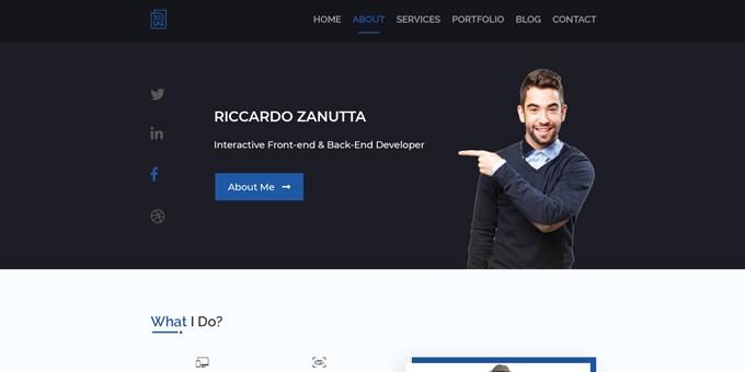Rocks Pro Agency PSD Template
