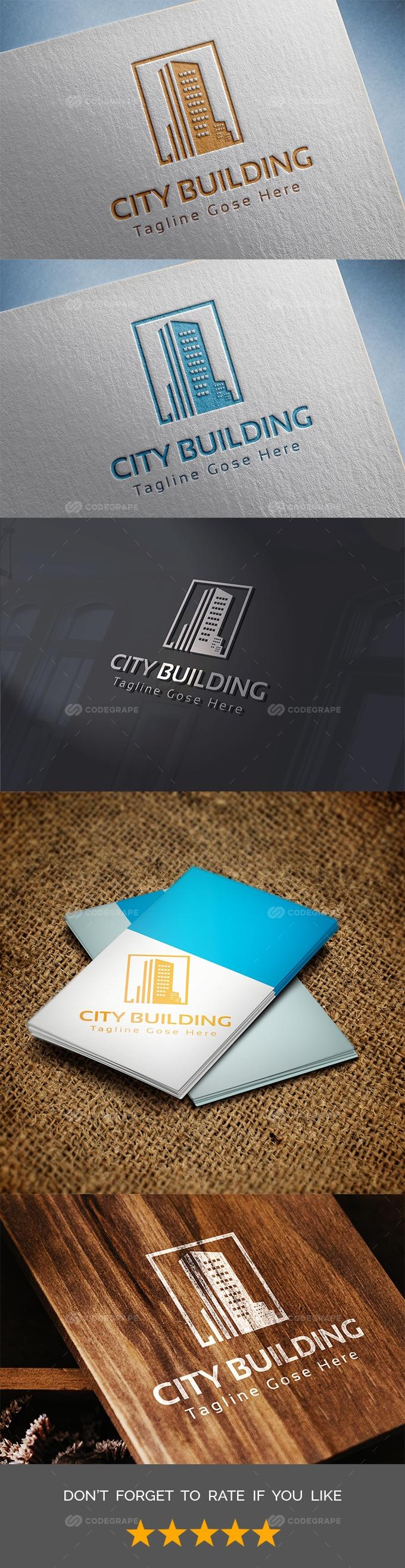 City-Building Logo Templates