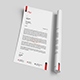 Corporate letterhead Template.