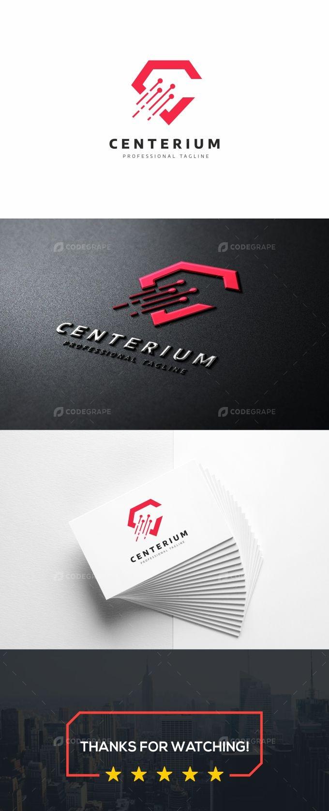 Centerium C Letter Logo