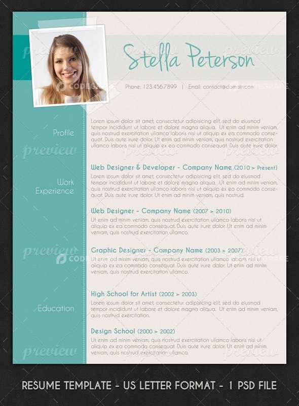 fancy resume free professional templates download