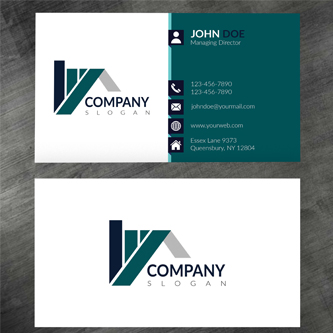 Unique & Clean Business Card