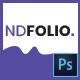 NDFOLIO - One Page Portfolio PSD Template