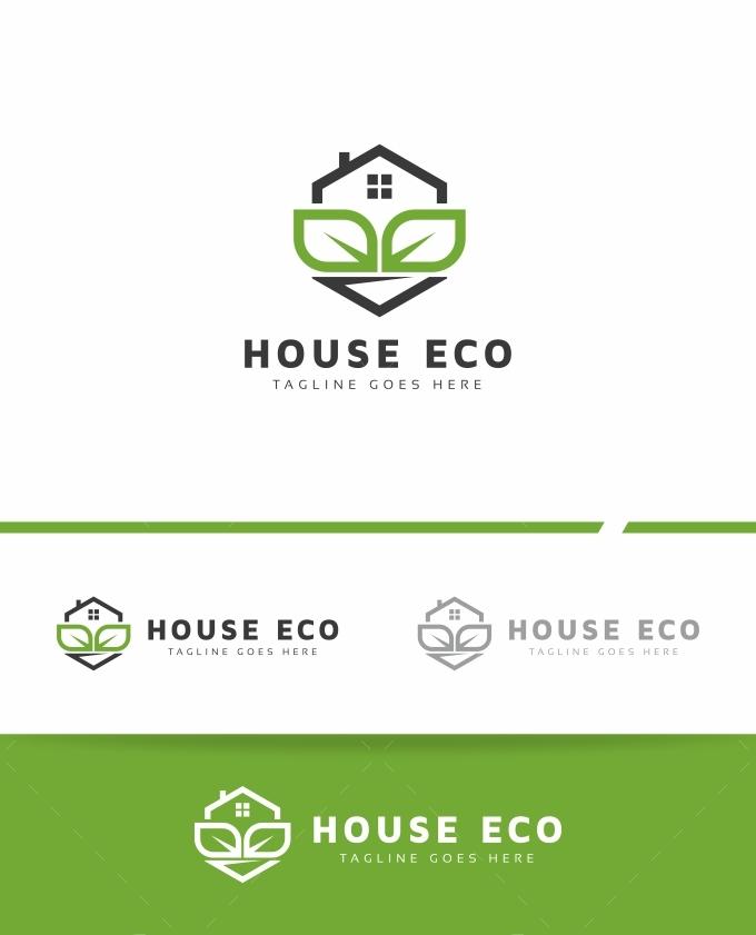 House Eco Logo