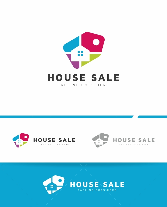 House Sale Logo