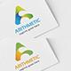 Arithmetic (A Letter logo design)