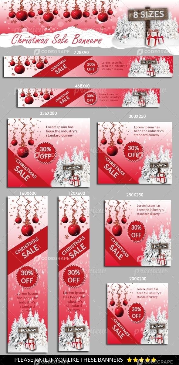 Christmas Sale Banners Vol.2