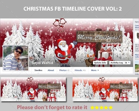 Christmas FB Timeline Cover Vol: 2