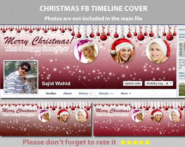Christmas FB Timeline Cover Vol.3