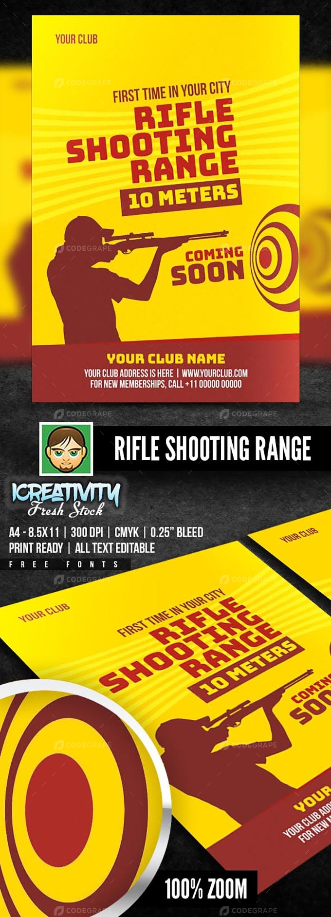 Rifle Shooting Flyer