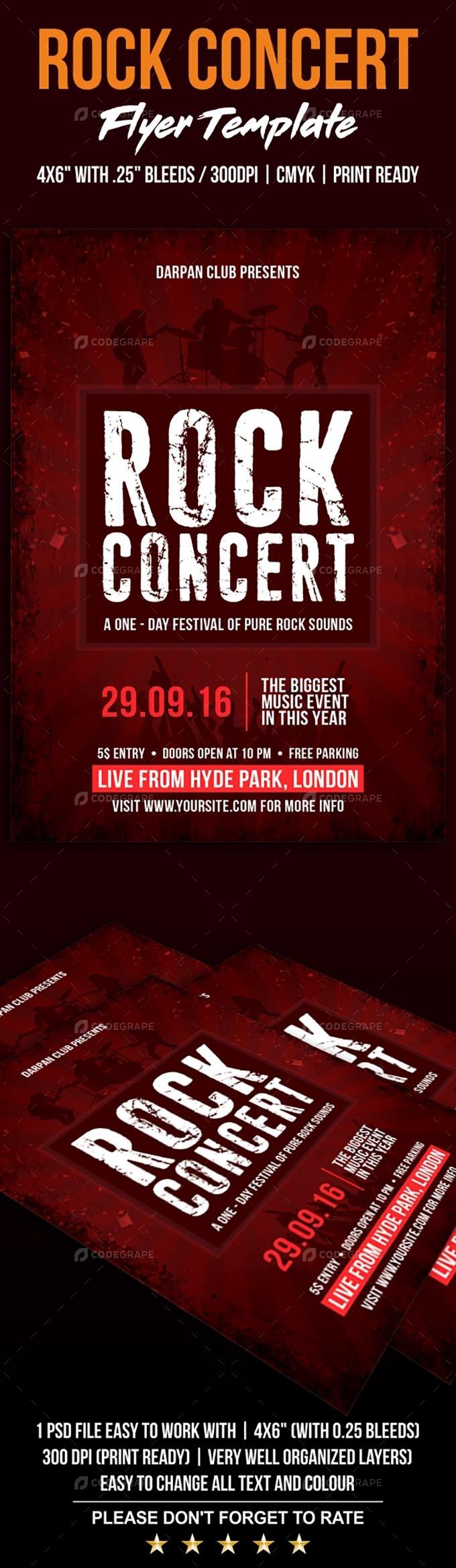 Rock Concert Flyer