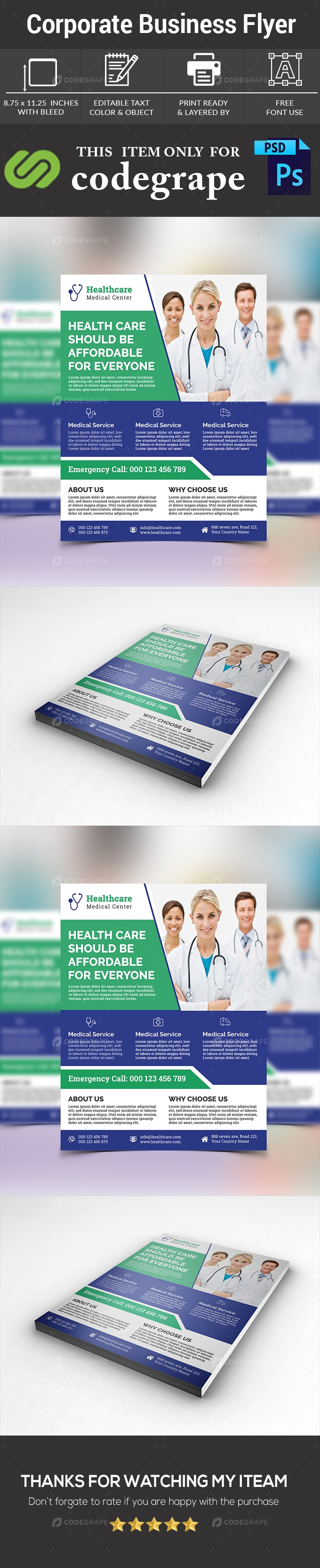 Corporate Doctor Flyer