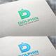 Dolphin D Letter Logo