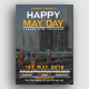 Happy May Day Flyer