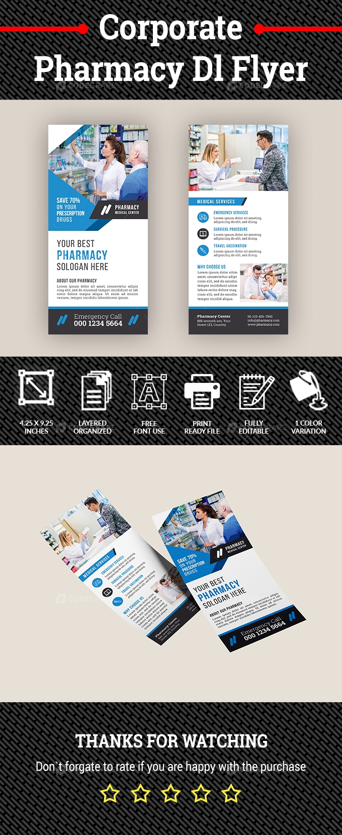 Pharmacy DL Flyer