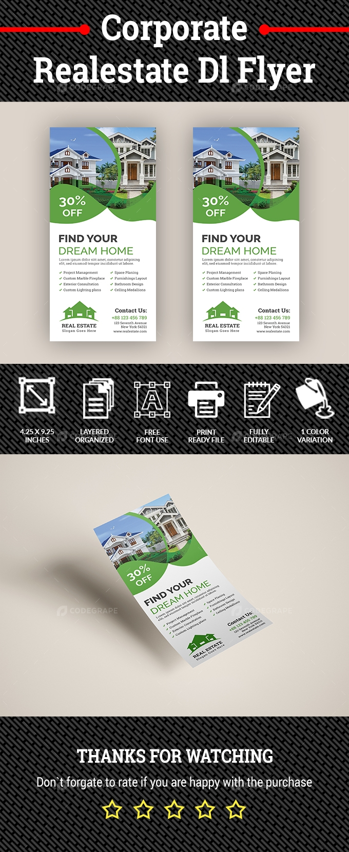 Corporate Real estate DL Flyer