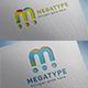 Megatype (m) Letter Logo Design