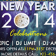 New Year 2014 Celebrations Flyer