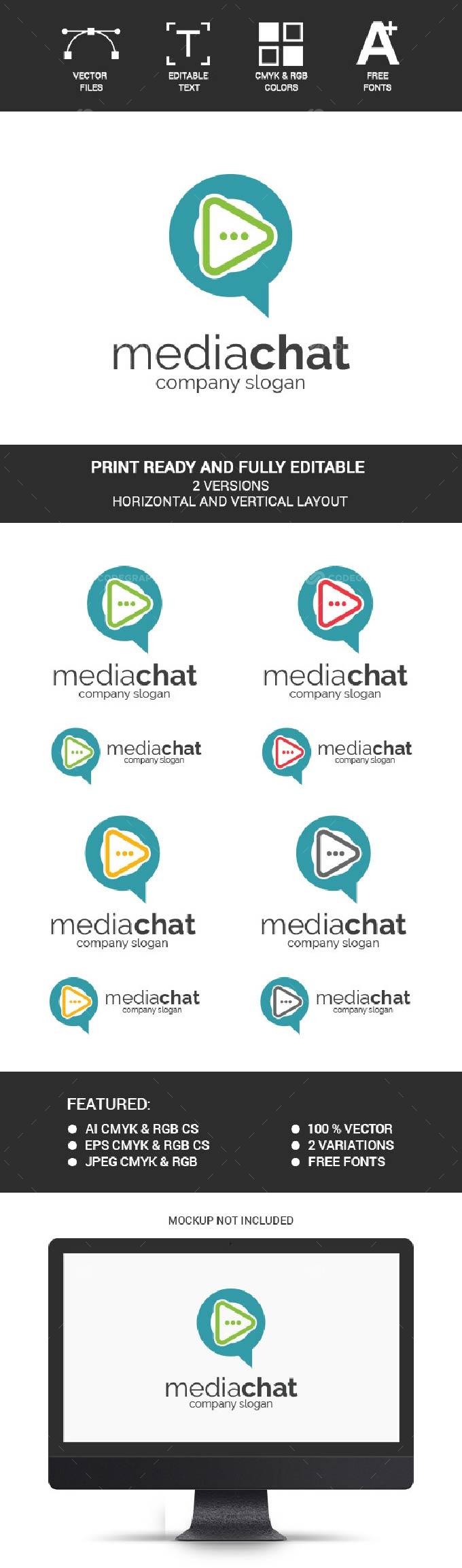 Media Chat Logo