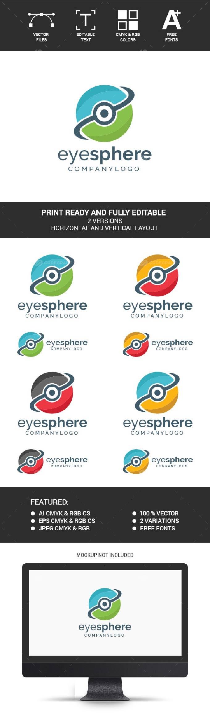 Eye Sphere Logo