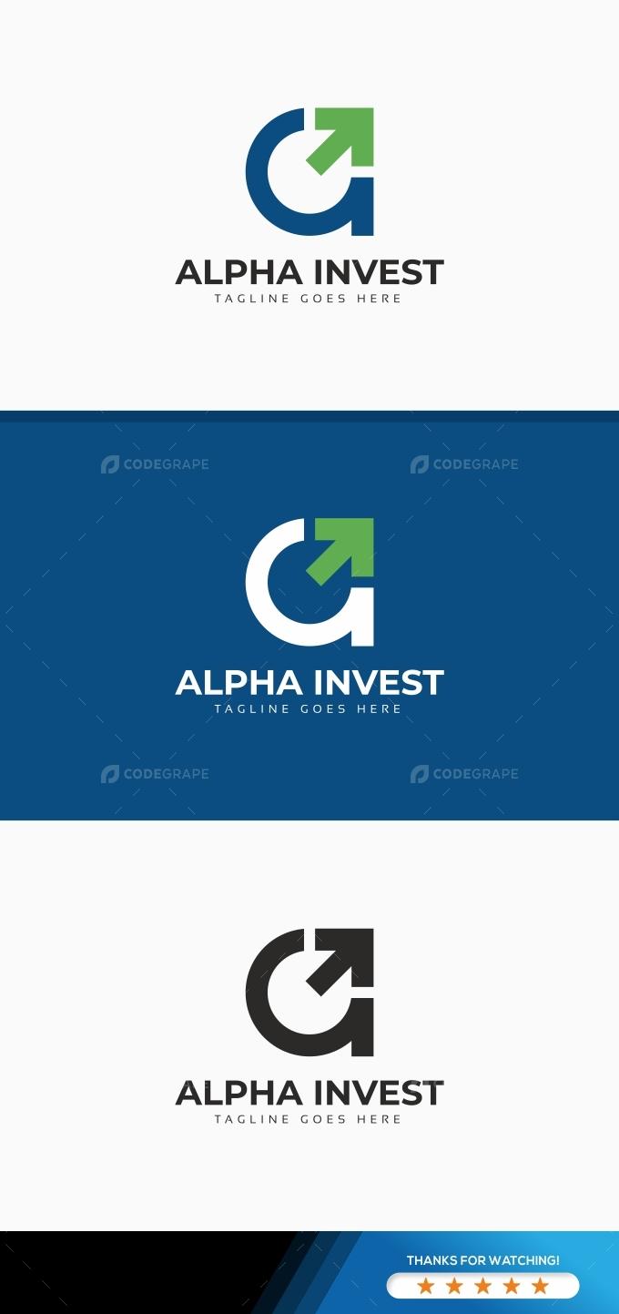 Alpha Invest Logo