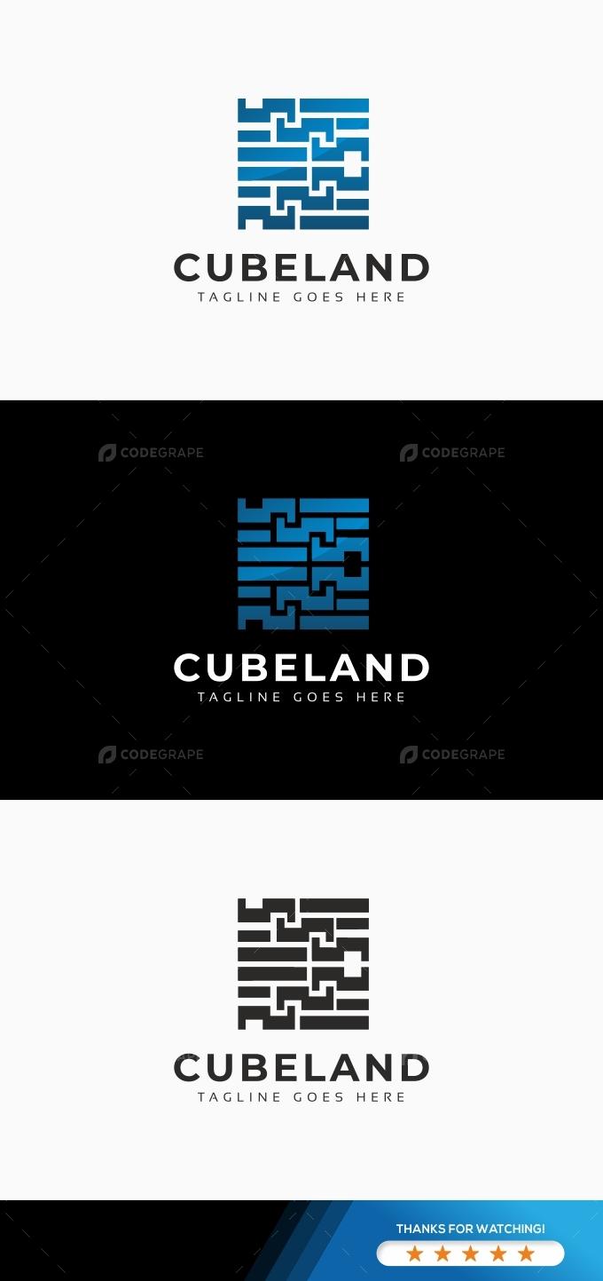 Cubeland Logo