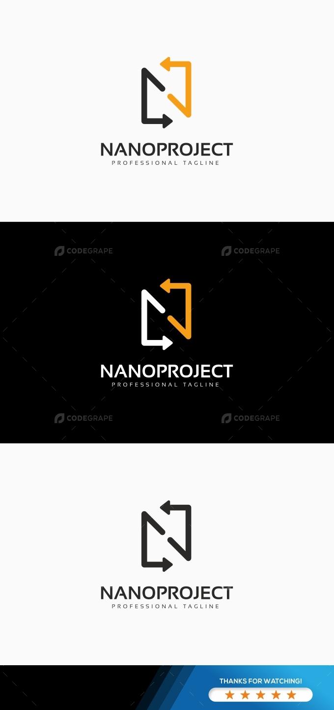 Nanoproject N Letter Logo