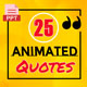 25 Animated Quotes For Social Media
