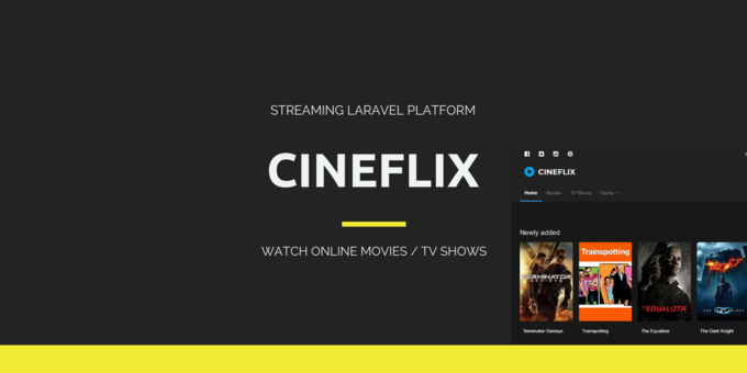 Cineflix - Movies & TV Shows Info PHP Script