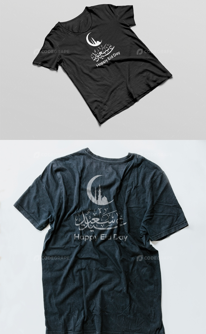 Happy Eid Day T-shirt Design