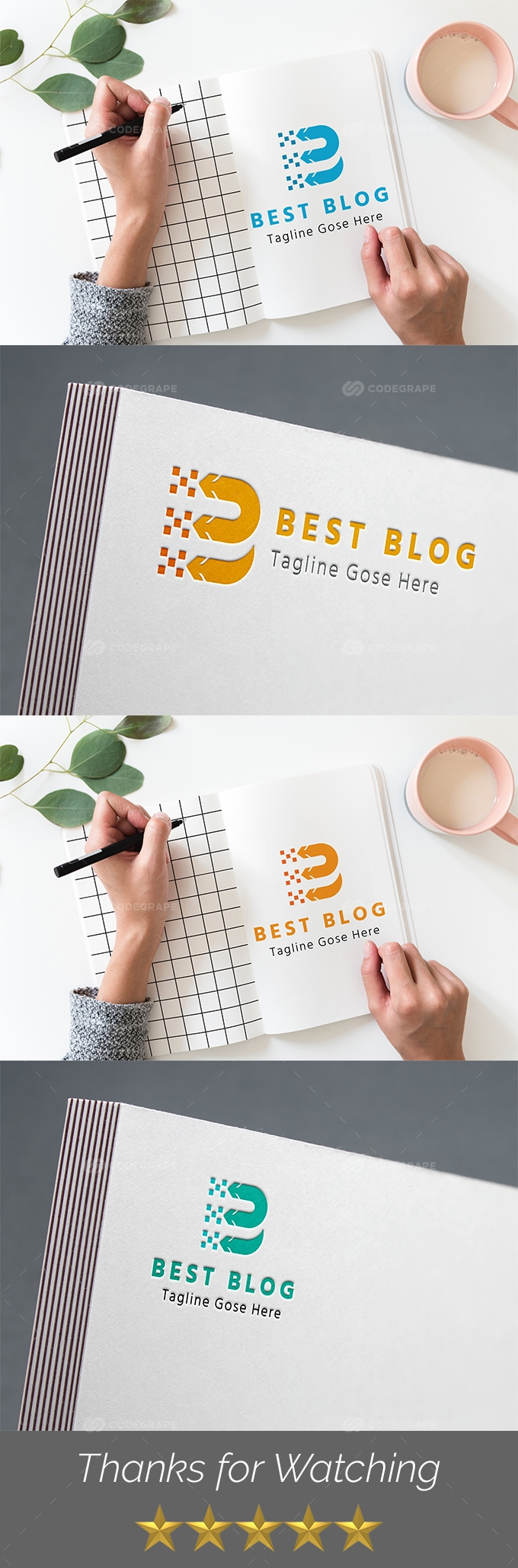Best Blog B Letter Logo