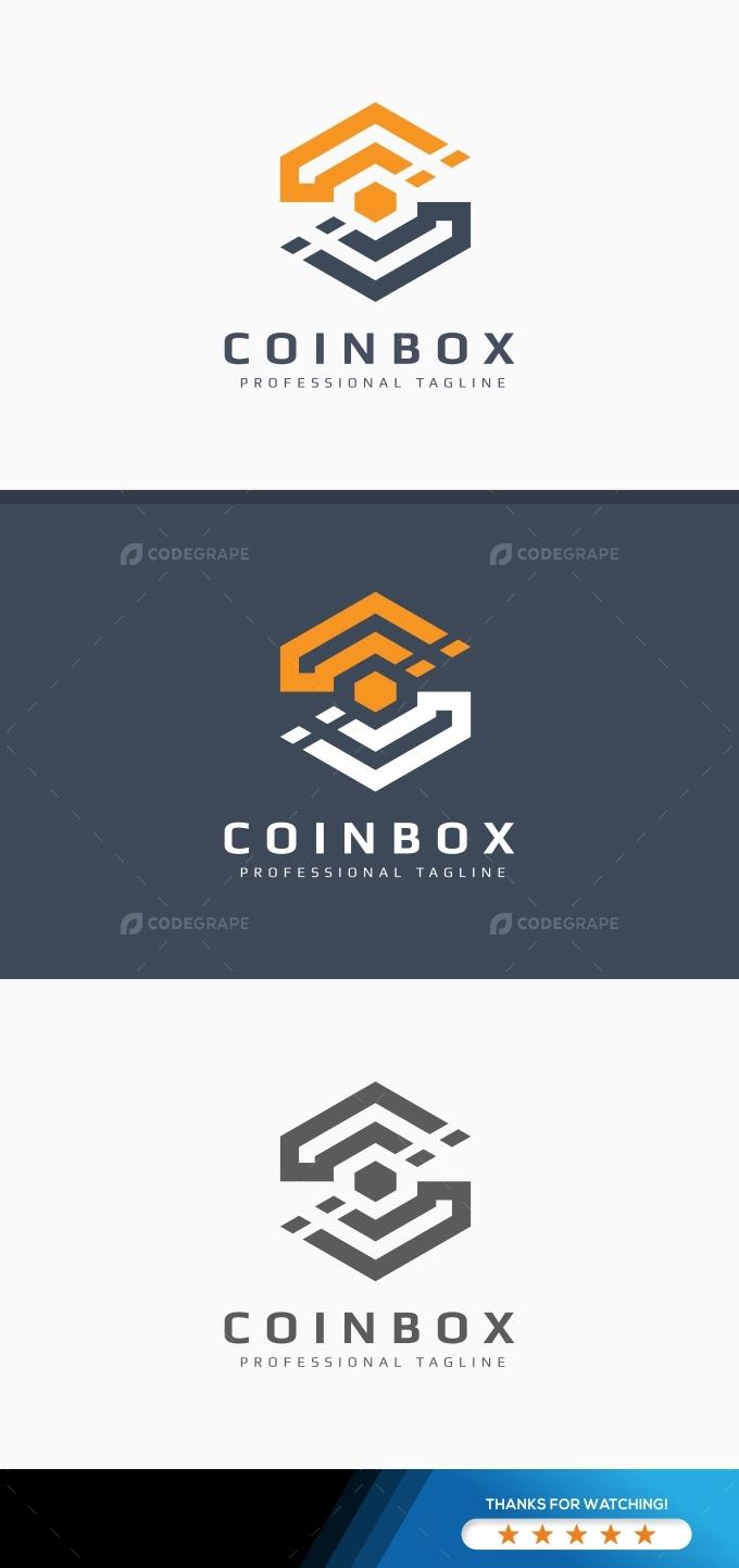 Coinbox - C Letter Logo