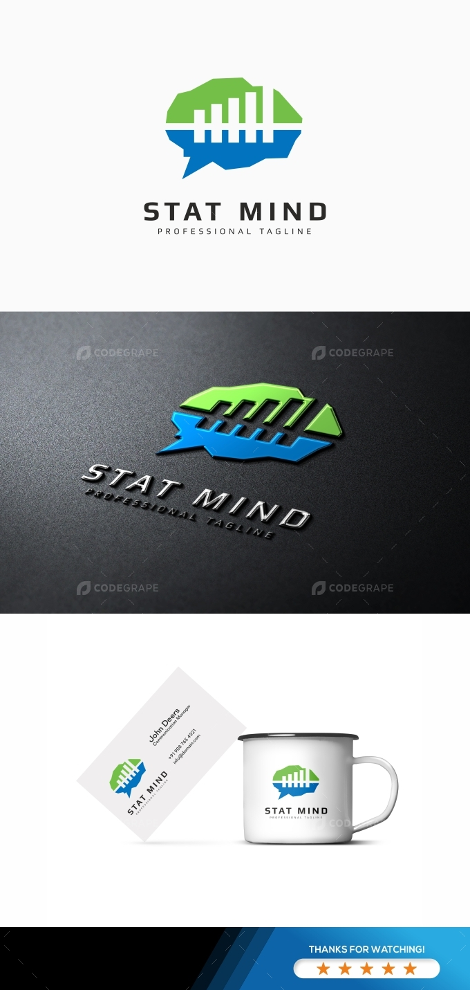 Stat Brain Logo