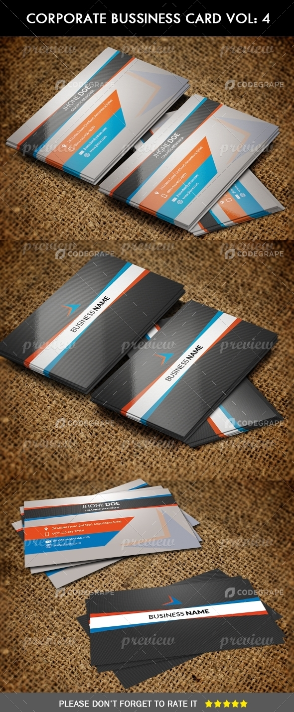 Corporate Business Card Vol: 4