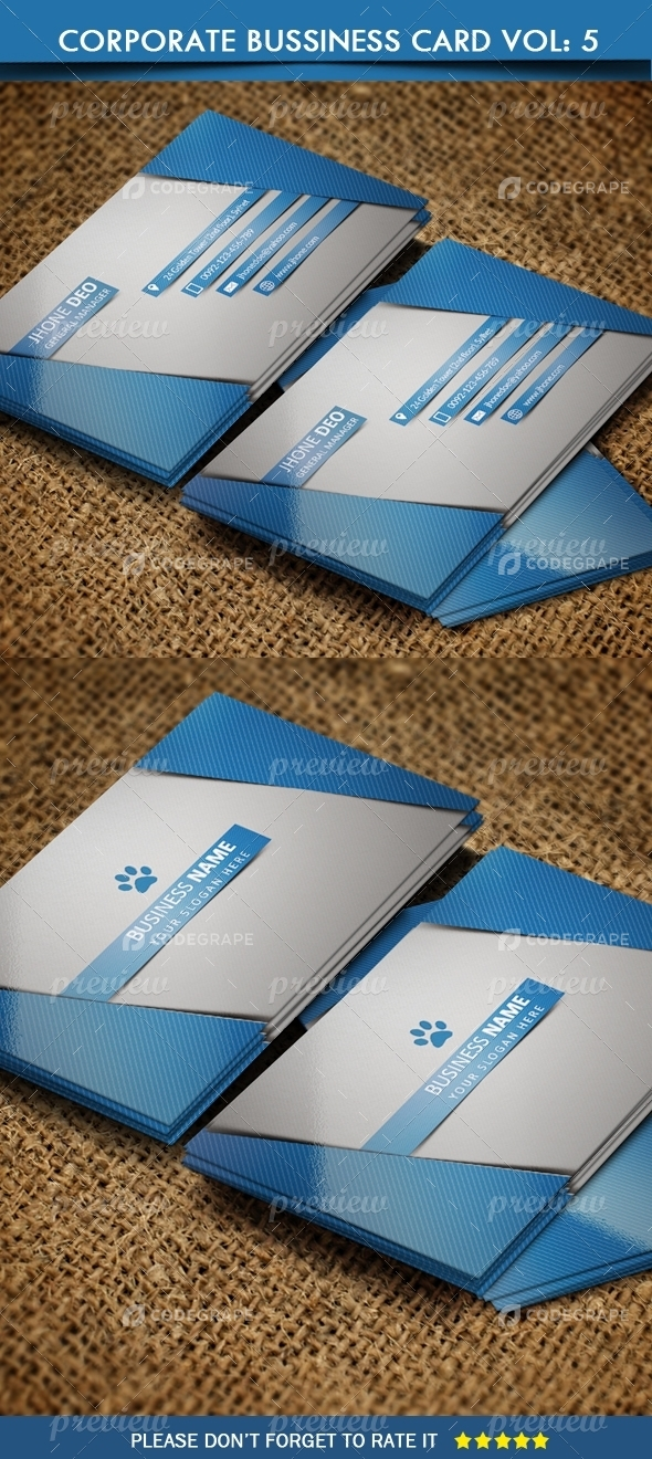 Corporate Business Card Vol: 6