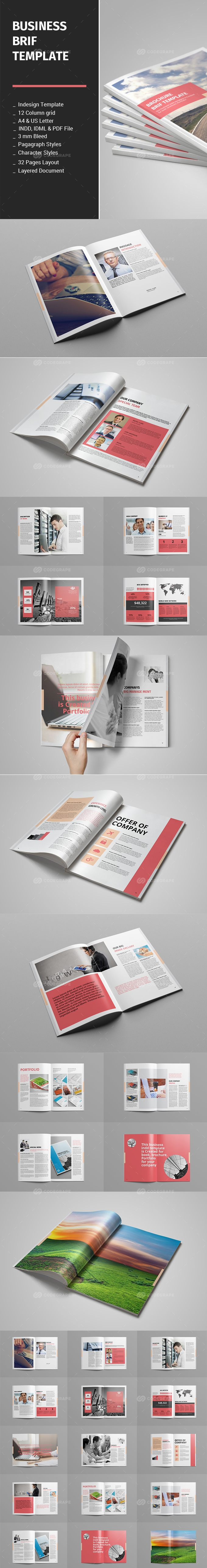 Business Brif Template