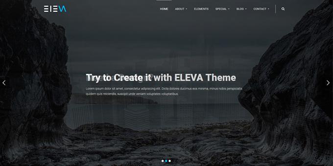 Eleva - Responsive Multipurpose HTML5 Template
