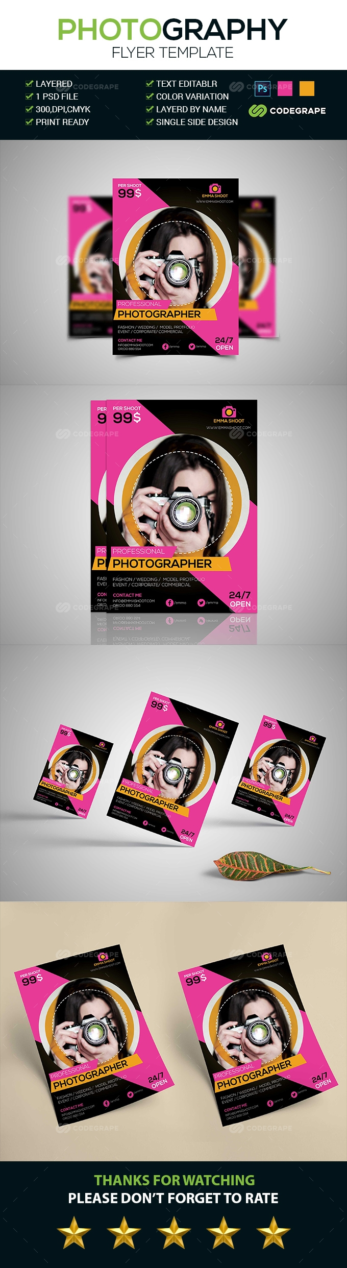 Amazing Photography Flyer
