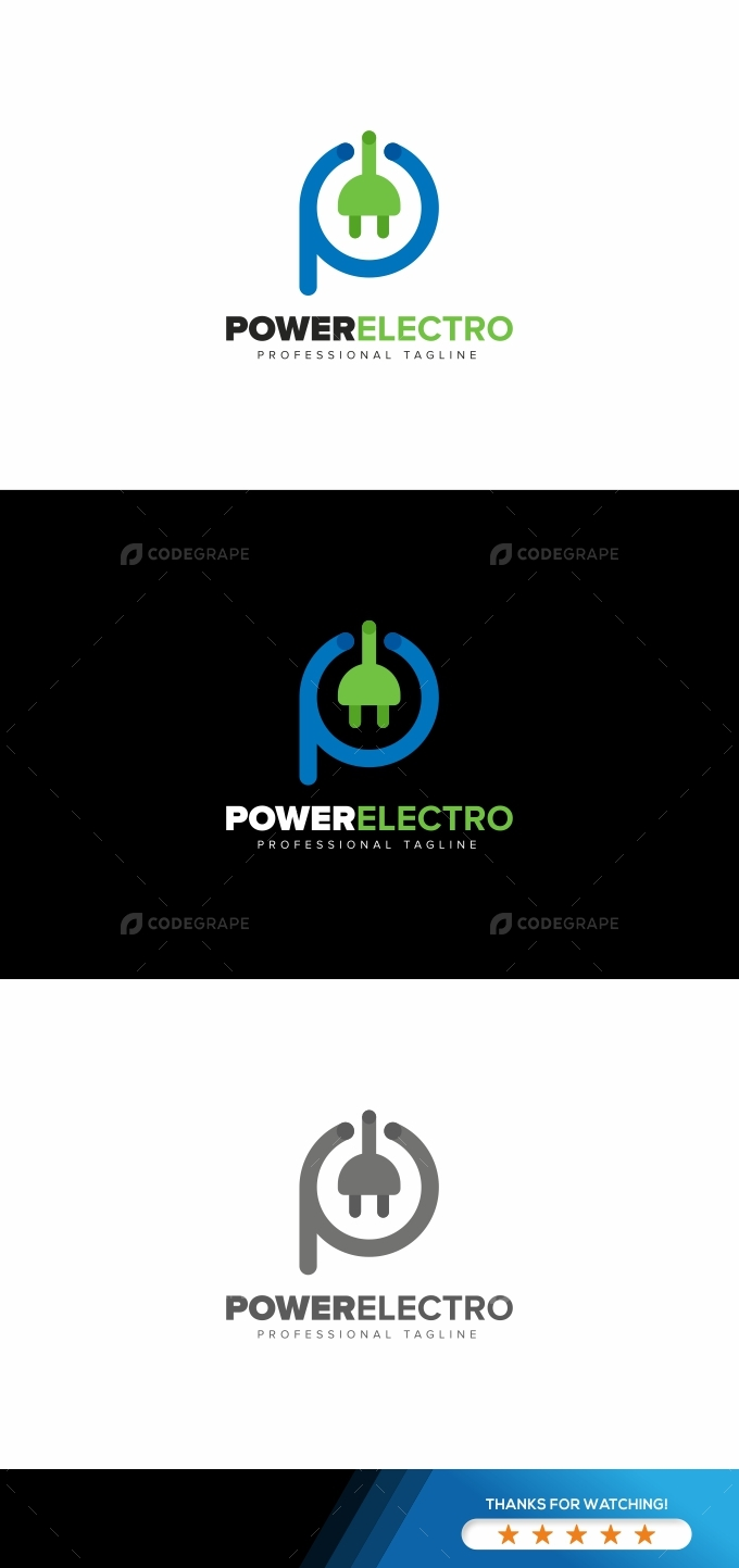 Power Electro Logo