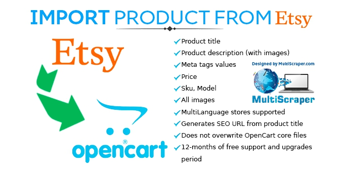 Import Product From Etsy