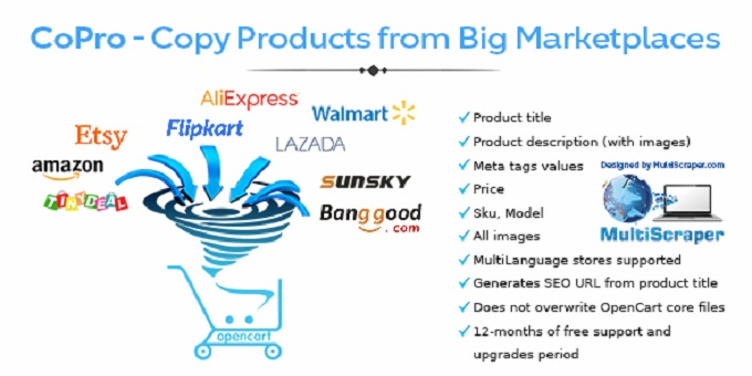 Import Products From Big Marketplaces