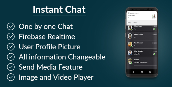 Instant Chat - Realtime Chatting Application