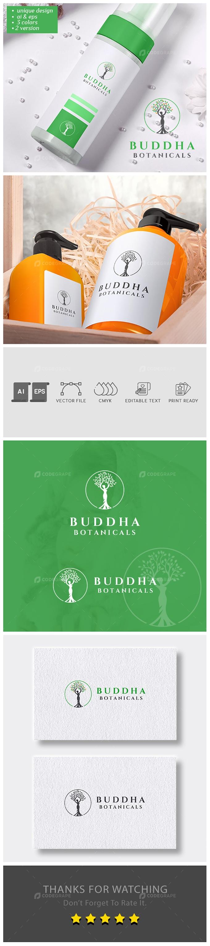 Buddha Botanicals Logo