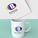 Business B Logo Template