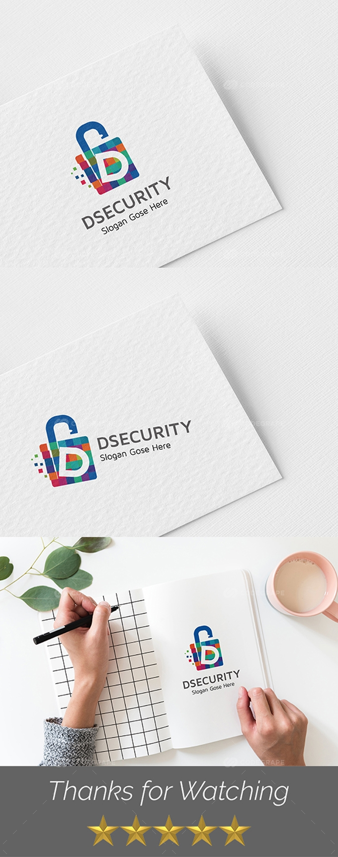 Dsecurity D Letter Templates