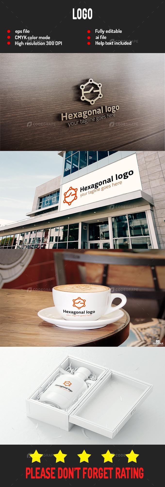 Hexagonal Logo
