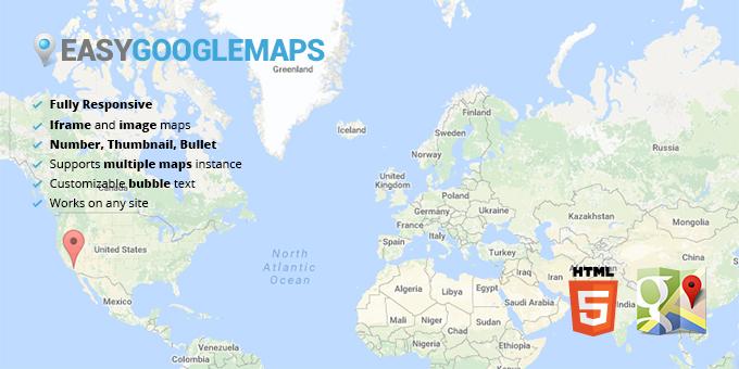 Easy Google Maps