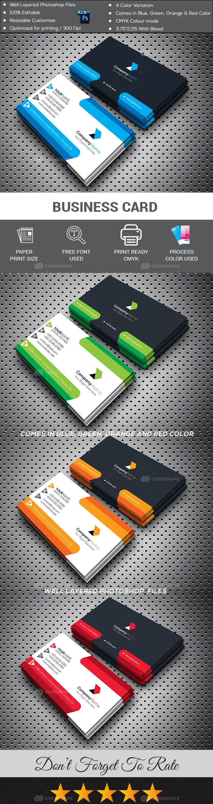 Professional Business Card v2