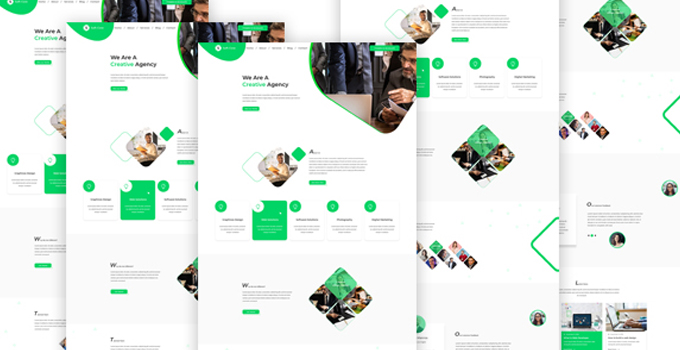 SoftCore PSD Template
